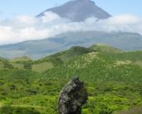 Traper - widok na wulkan Pico