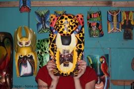 Mini Traper - Maska jaguara