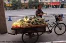 Mini Traper - Chengdu, sprzedawca ananasów