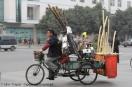 Mini Traper - Chengdu, sprzedawca bambusów