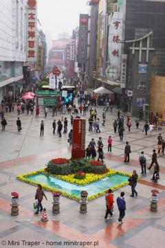 Mini Traper - Chengdu, pasaż handlowy Chunxi Lu