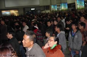 Mini Traper - Chengdu, hala kas biletowych