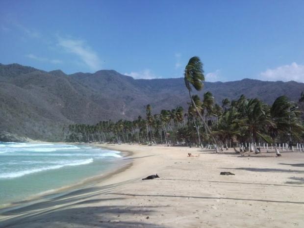 Wenezuela, plaża w Puerto Colombia