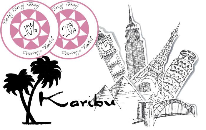 Promocja Karibu - 10%, 20%