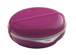 Lunchbox wkolorze fioletowym