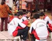 Mini Traper - Chengdu, uczniowie