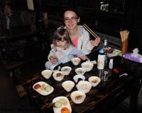 Mini Traper - Chengdu, wegetariańska kolacja