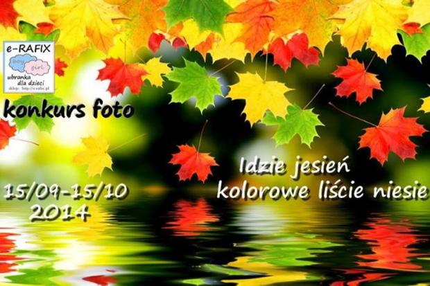 Idzie jesień, kolorowe liście niesie