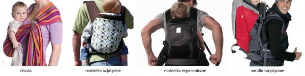 Nosidełka ergonomiczne
