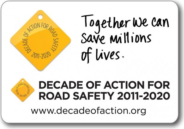 Logo Dekady Bezpieczeństwa Drogowego (BRD) 2011-2020