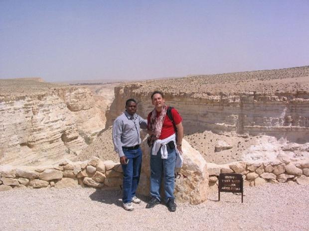 O. Krzysztof (MAfr) na algierskiej pustyni
