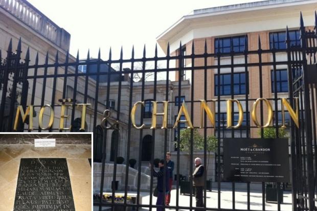 Dom  Moët & Chandon w  Epernay