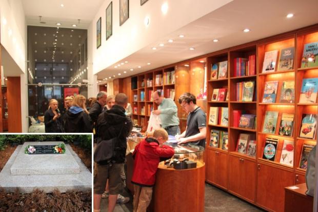 Księgarnia z przygodami Tintin w Brukseli